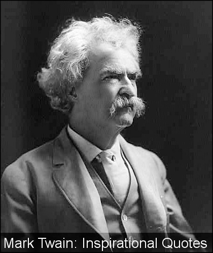 Mark Twain Quotes: Inspirational Quotes From Mark Twain. QuotesGram