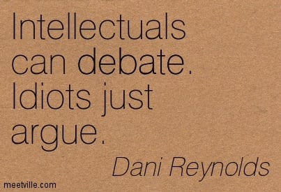 Great Quotes About Debate Quotesgram