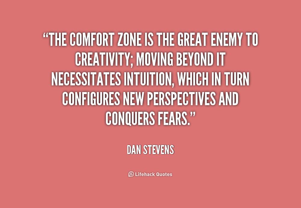 Comfort Zone Quotes Quotesgram