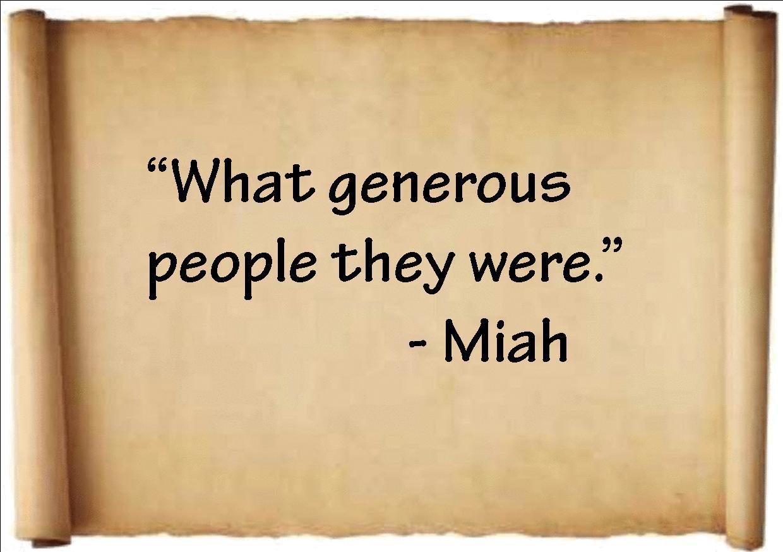 generous person - photo #17