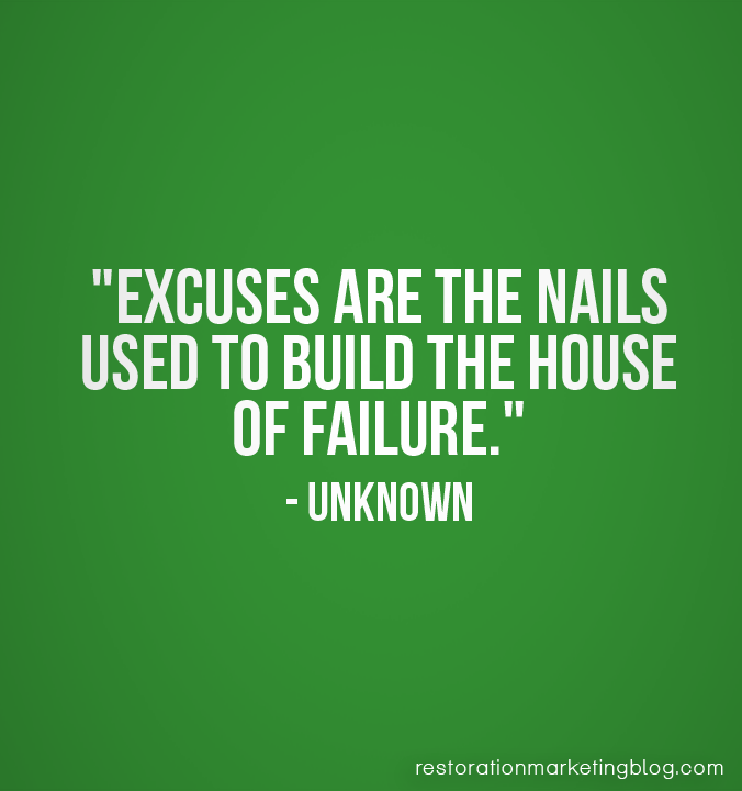 Famous Quotes About Excuses: Famous Recruiting Quotes. QuotesGram