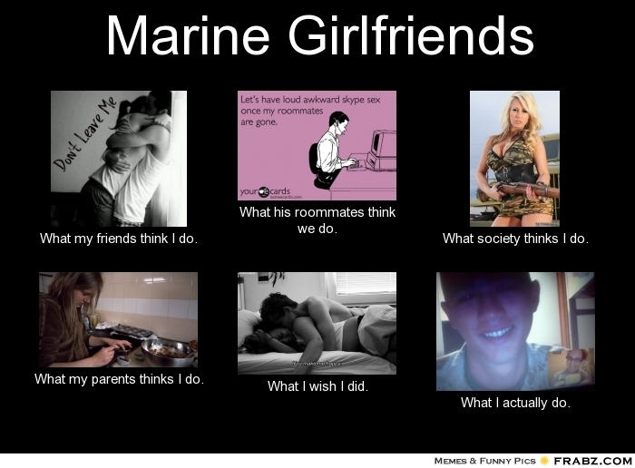 Dating an ex marine