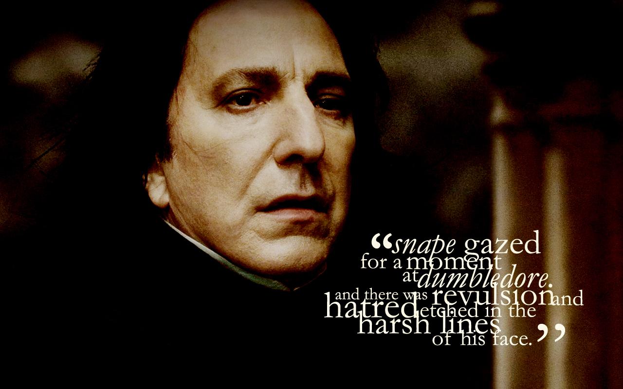 Alan Rickman Movie Quotes: Professor Snape Quotes. QuotesGram
