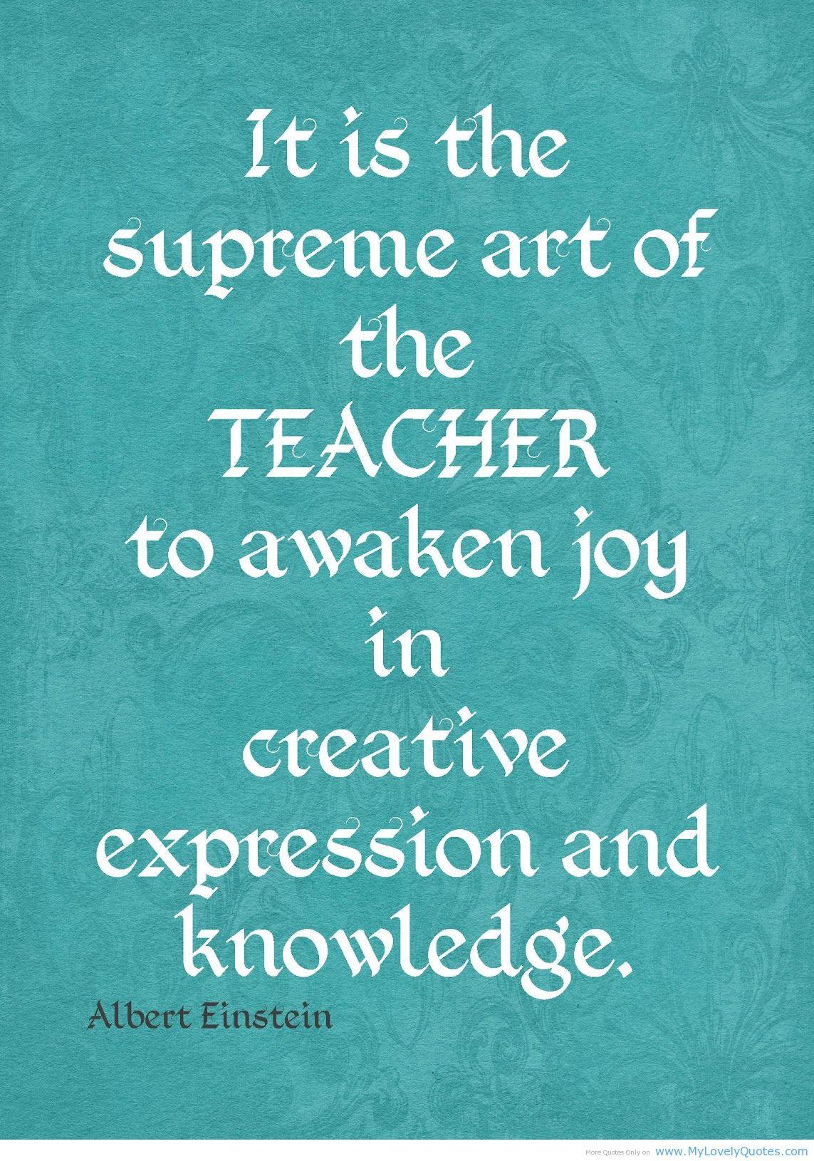 Inspirational Quotes Teachers Good Teacher. QuotesGram