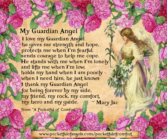 thanks to my guardian angel quotes quotesgram