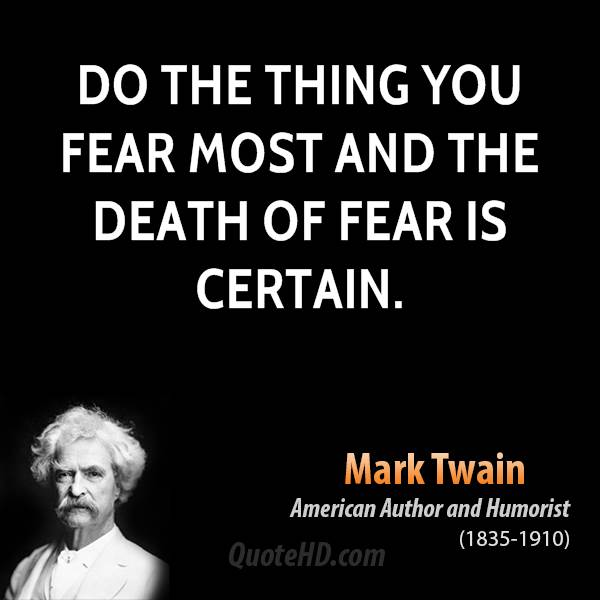 Famous Quotes About Fear: Famous Quotes Fear Of Death. QuotesGram