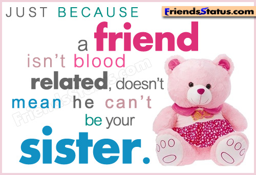 Friends Are Like Sisters Quotes. QuotesGram