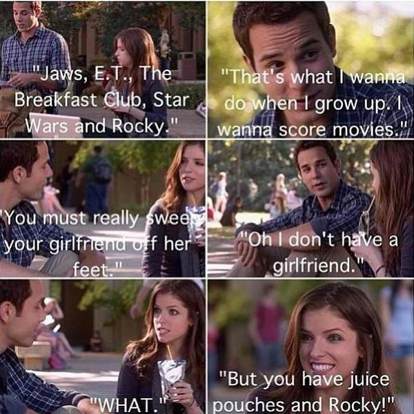 Hilarious Quotes From Pitch Perfect Beca Pitch Perf...