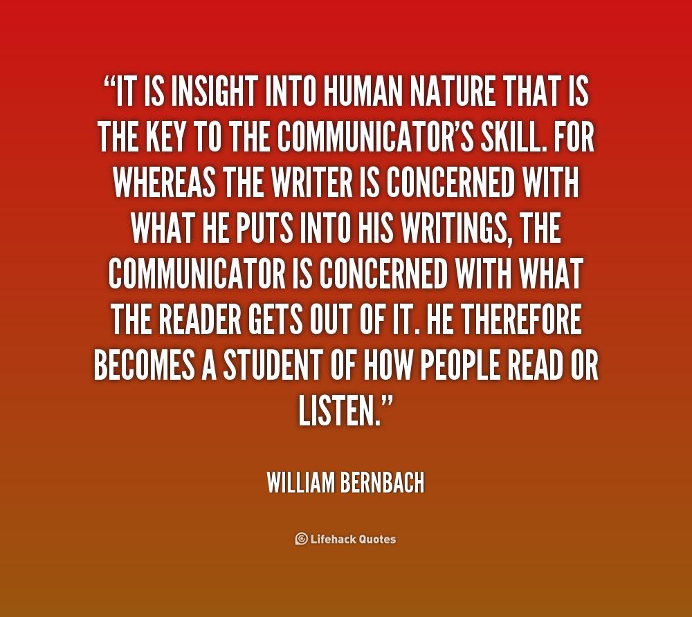 Human Nature Good Quotes