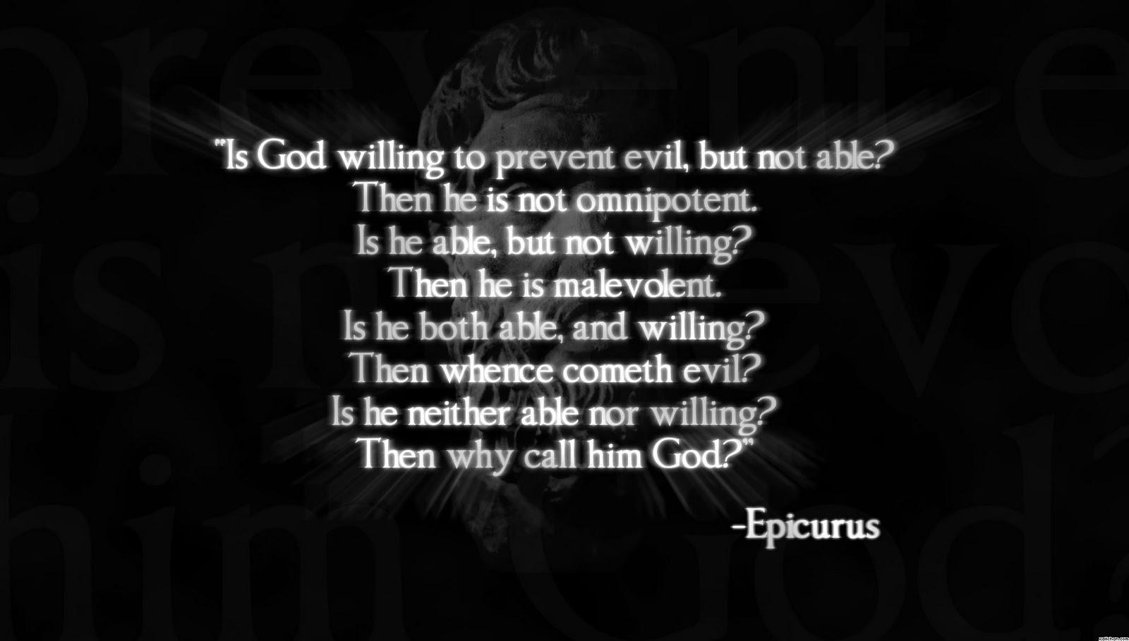 Aristotle and Epicurus