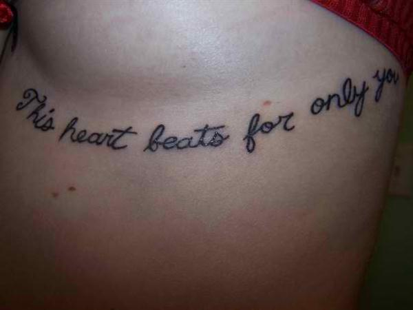 heart beat tattoo quotes quotesgram