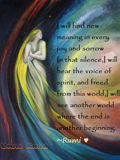 Rumi Quotes On New Beginnings Quotesgram