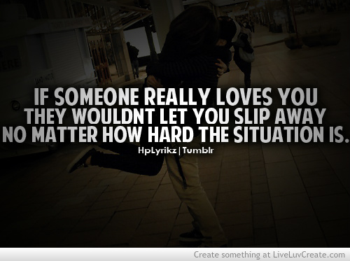 Sad Tumblr Quotes About Love: Positive Quotes About Life And Love. QuotesGram