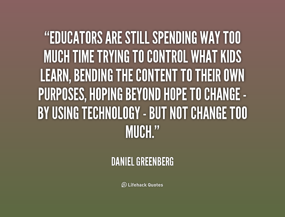 Too Much Technology Quotes. QuotesGram