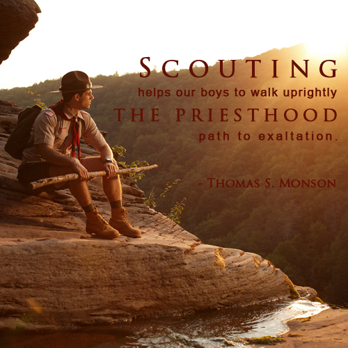 Boy Scout Essay With Quotes: Lds Scouting Quotes. QuotesGram