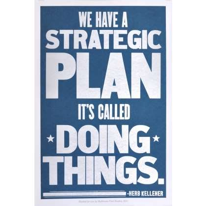 Strategic business planning quotes funny