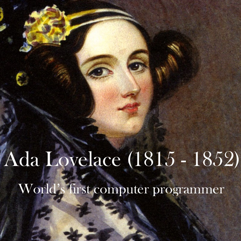 the life and works of ada lovelace Augusta ada king (née byron), countess of lovelace the image on this page is of a daguerreotype of ada lovelace celebrating the life and legacy of ada lovelace.