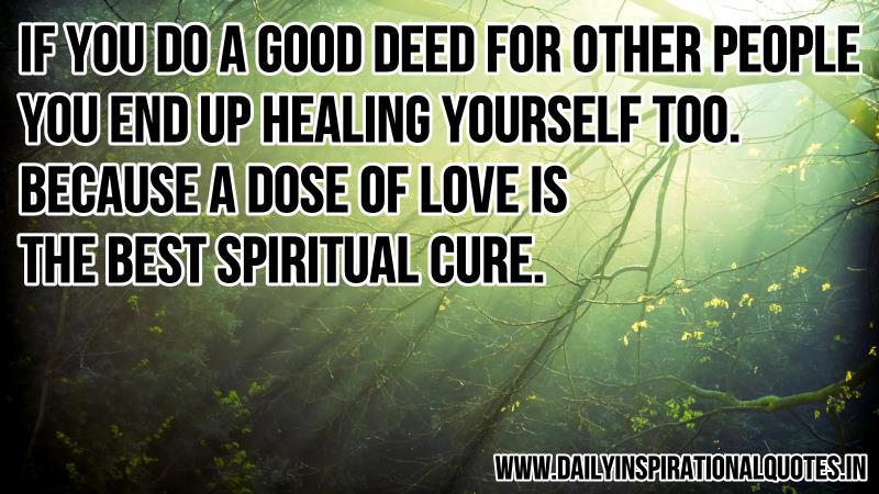 Spiritual Healing Quotes. QuotesGram
