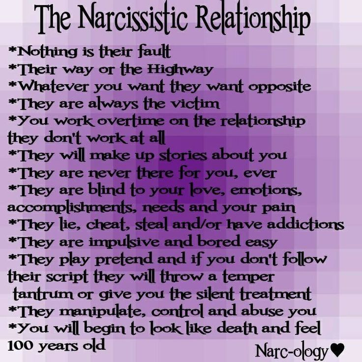 Narcissistic personality disorder in marriage