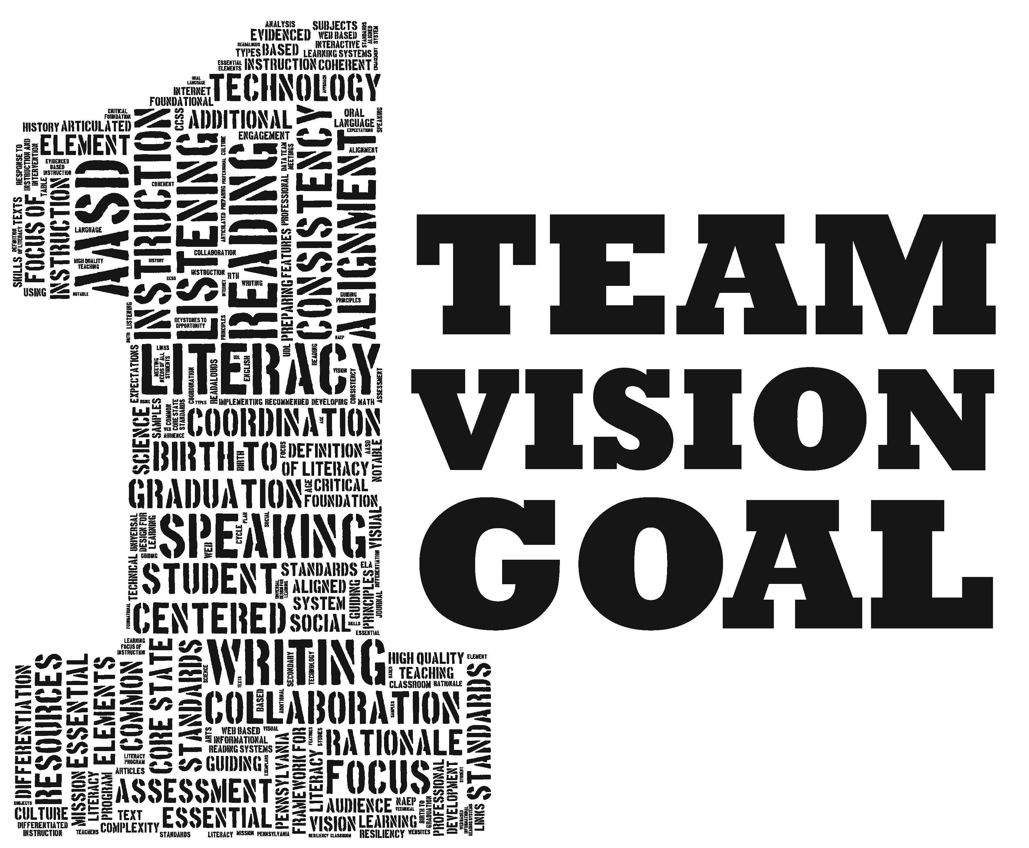 goal and team Team goals are just one piece of a complex puzzle that ultimately forms a complete picture for a group project a group project, by some accounts, could be a long.