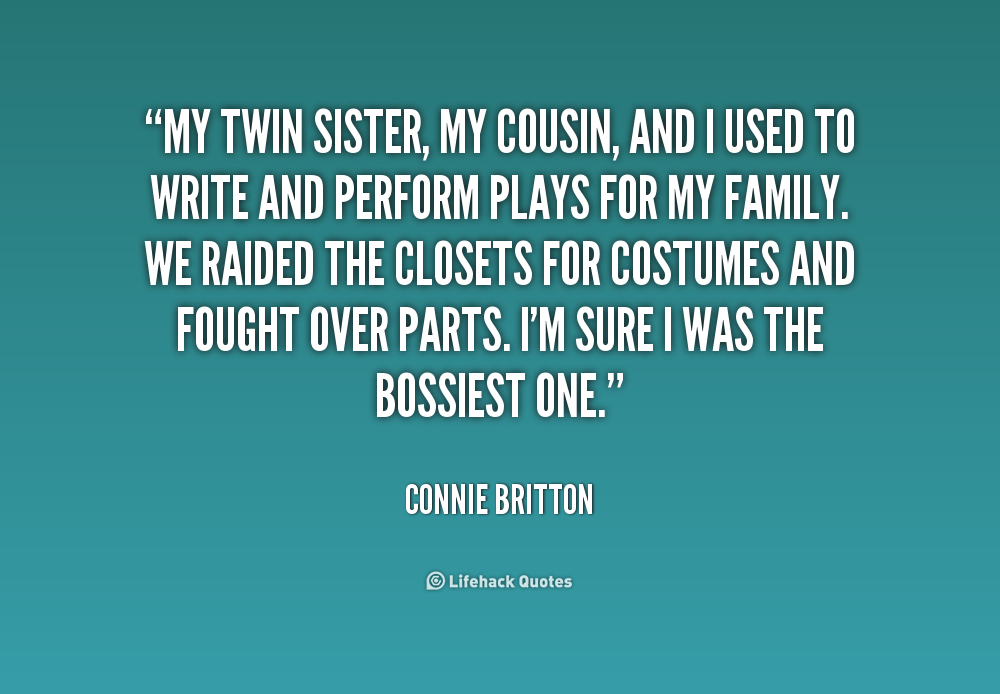 I Love You Quotes: Quotes About Cousins Like Sisters. QuotesGram