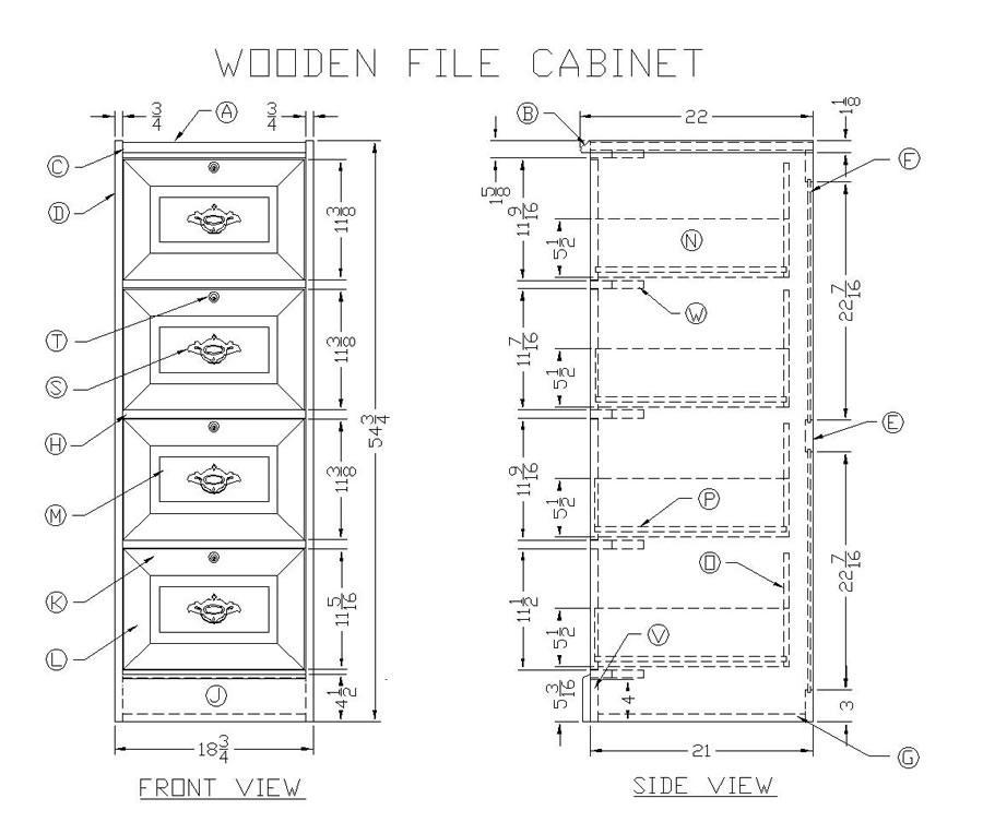 Es About Filing Esgram, Wooden File Cabinet Plans