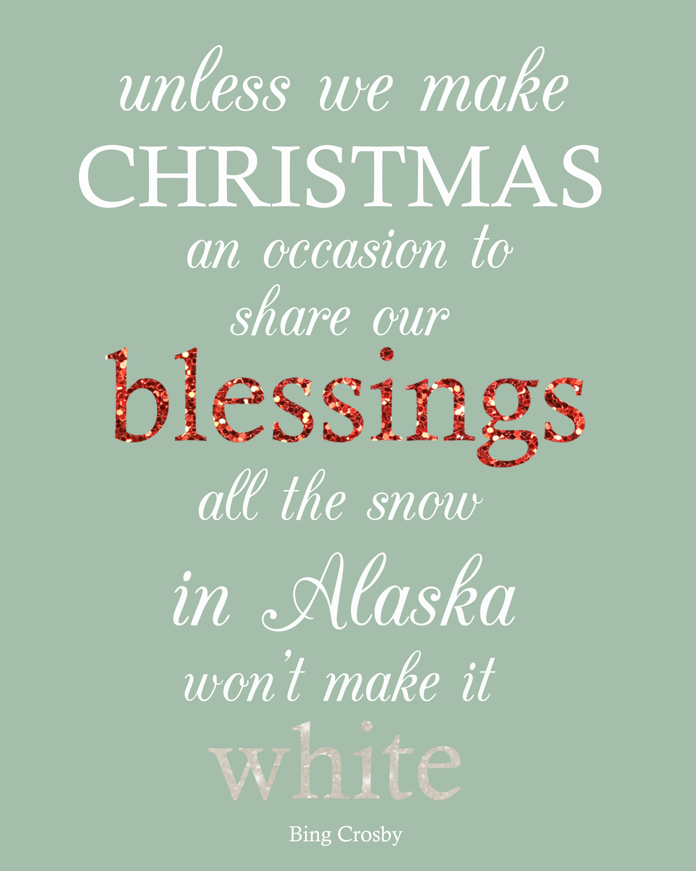 Inspirational Quotes About Positive: Christmas Blessing Quotes. QuotesGram