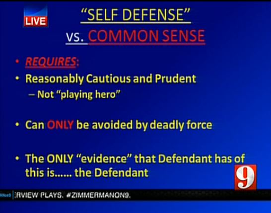 the law of self defense essay