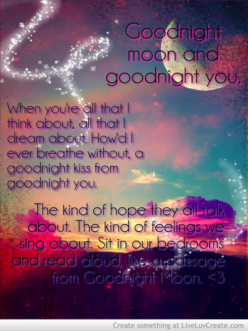 Quotes From Goodnight Moon