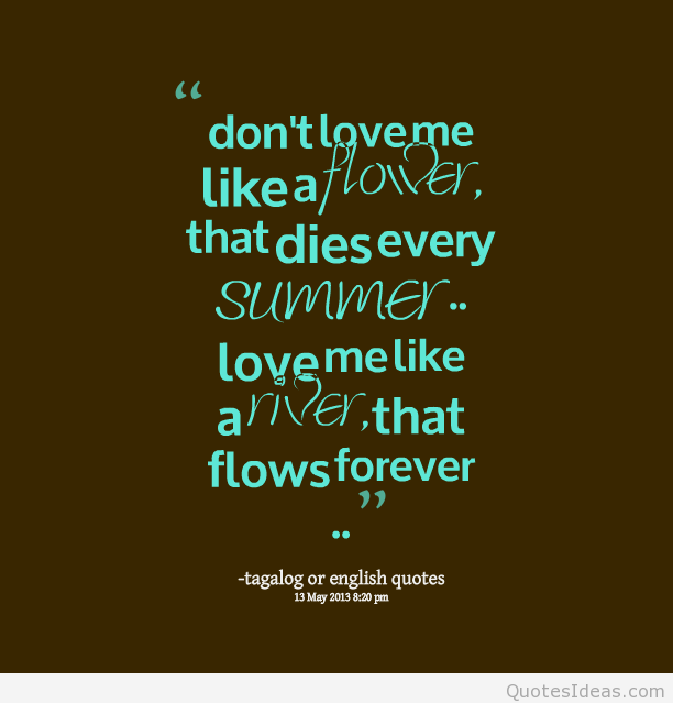 Forever Love Quotes Tagalog. QuotesGram