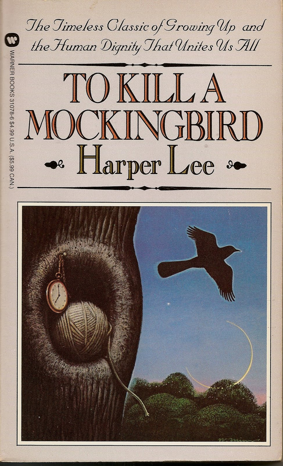 an analysis of the quote from to kill a mockingbird a novel by harper lee To kill a mockingbird analysis the title of to kill a mockingbird comes from something both atticus harper lee only wrote one novel—other than the.