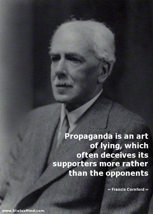 Quotes About Propaganda. QuotesGram