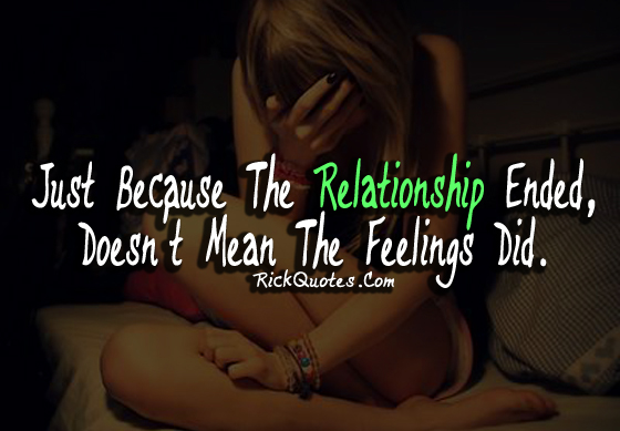 wise words to end a relationship