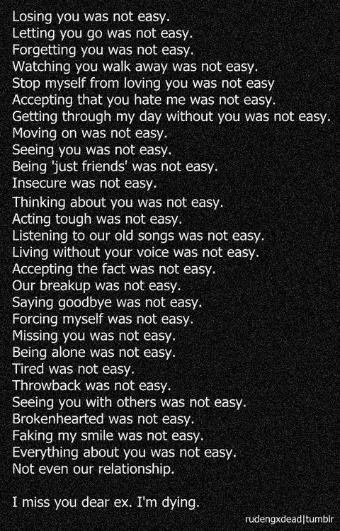 Dear Ex Quotes. QuotesGram