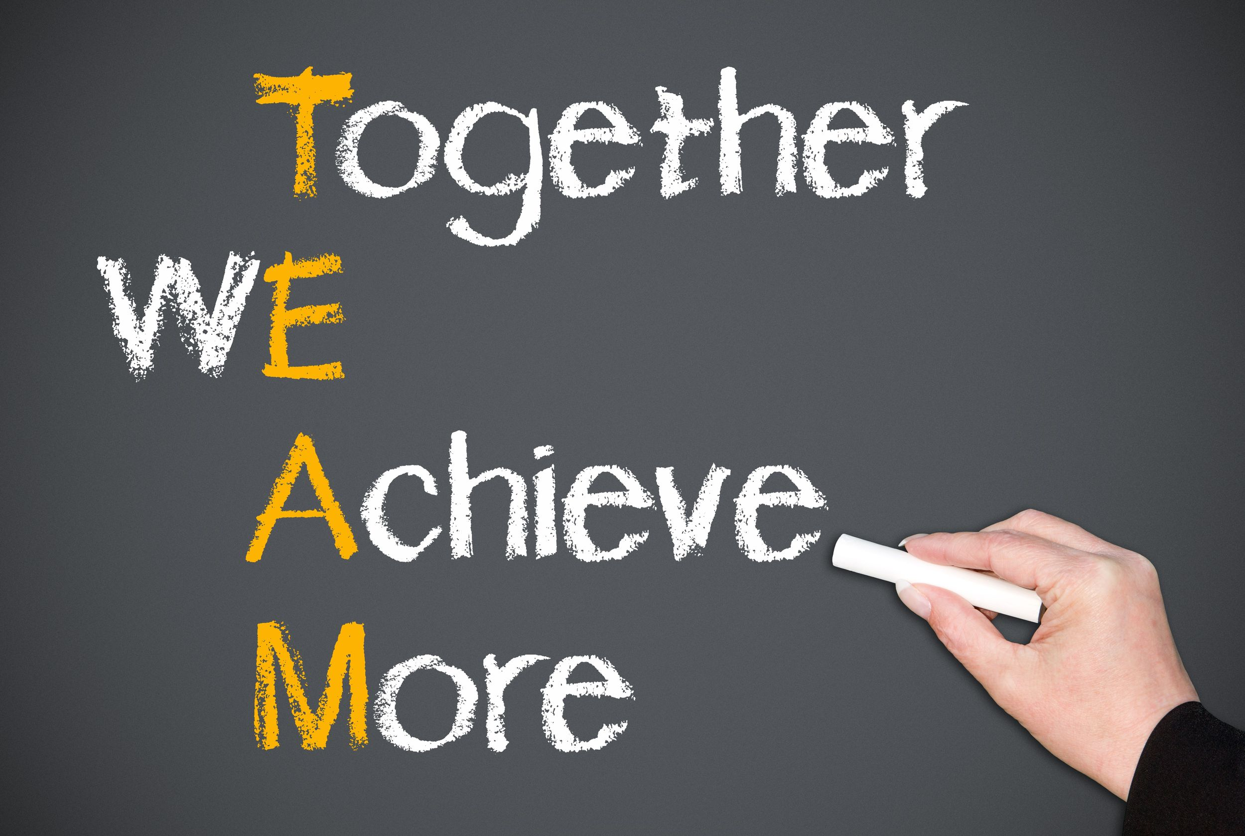 learning to appreciate team work Individual commitment to a group effort-that is what makes a team work, a company work, a society work, a civilization work robert crandall you put together the best.