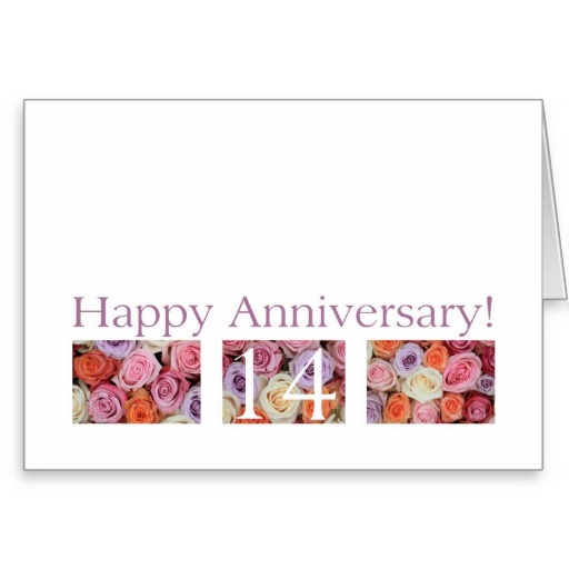 Four Year Wedding Anniversary Quotes Quotesgram: 14th Wedding Anniversary Quotes. QuotesGram