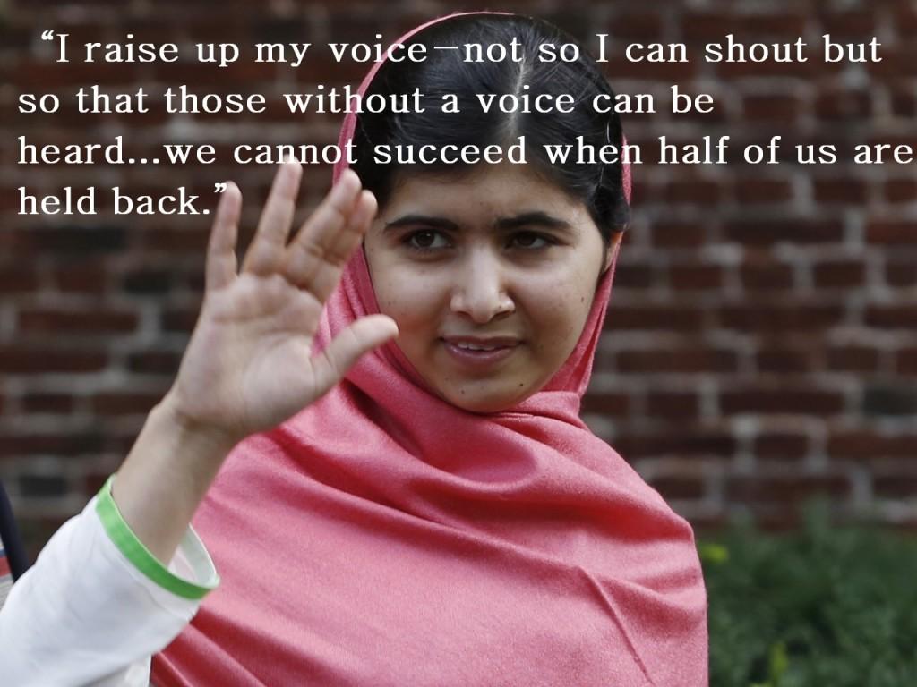Quotes From Malala Yousafzai. QuotesGram