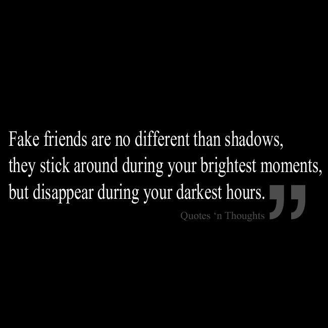 No Fake Friends Quotes. QuotesGram