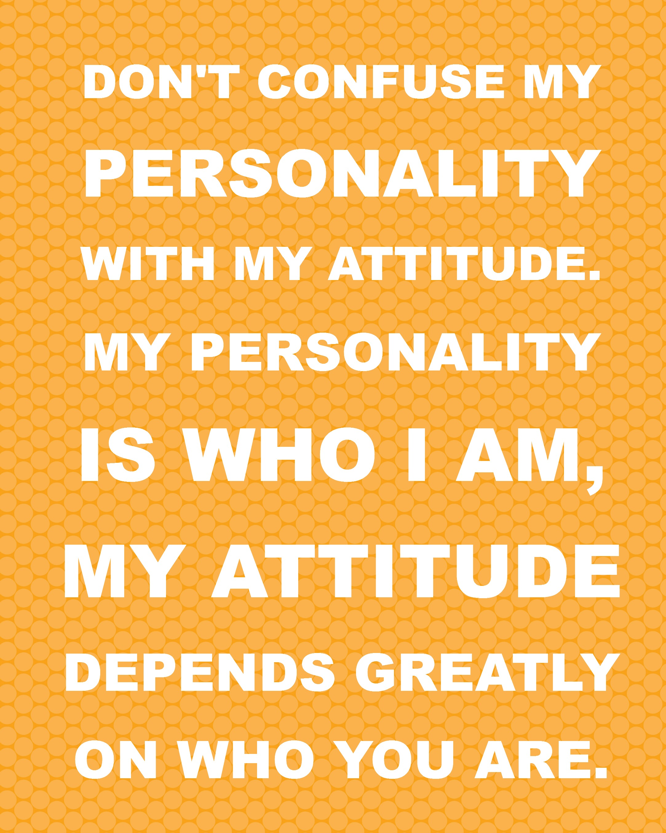 Personality Quotes And Sayings. QuotesGram
