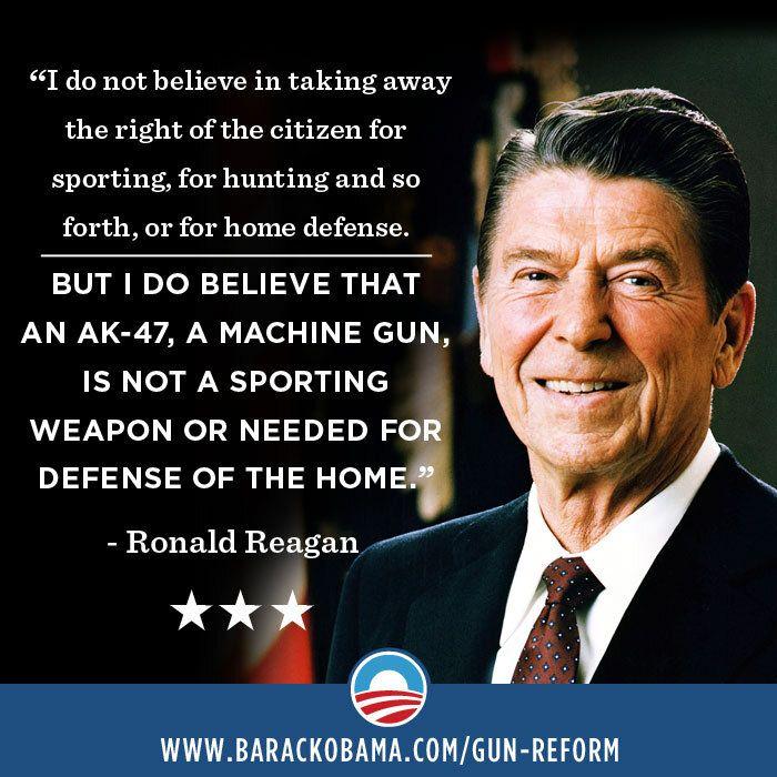 Ronald Reagan Quotes On Guns Quotesgram