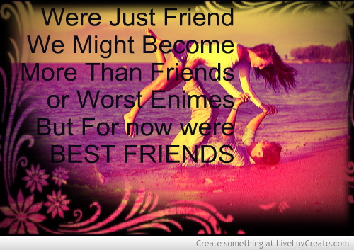 Girl And Boy Can Be Best Friends Quotes. QuotesGram