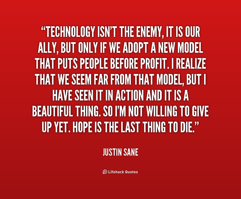 quotes about new technology quotesgram