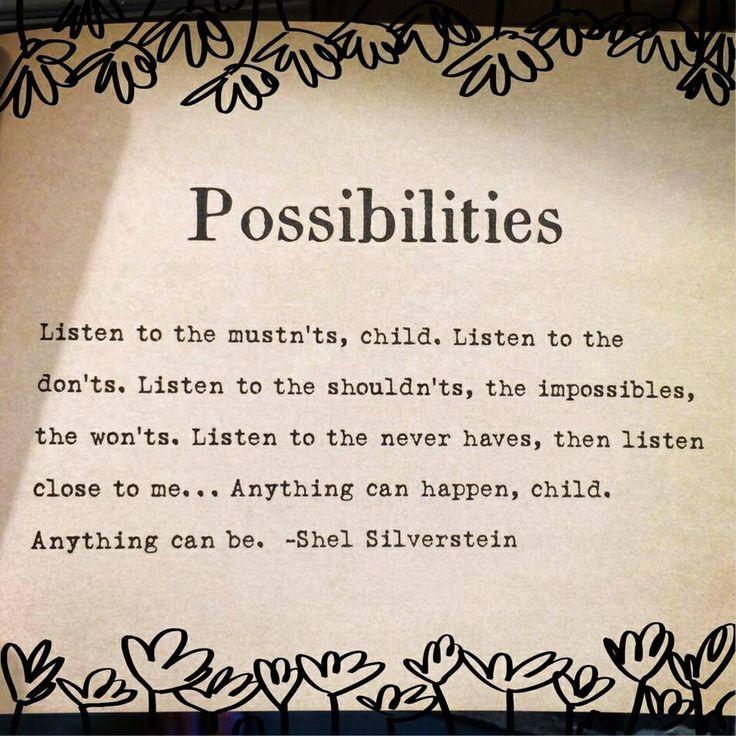 Shel Silverstein Graduation Quotes