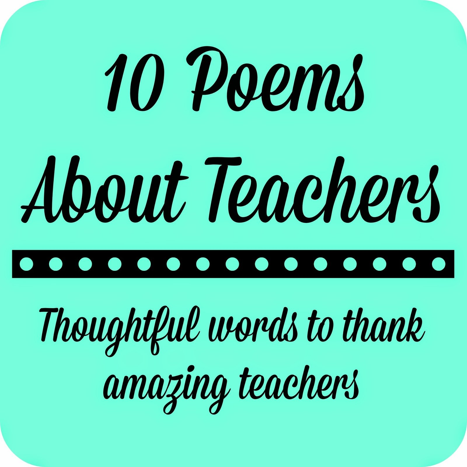 Student Thanking Teacher Quotes: Thank God For Teachers Quotes. QuotesGram