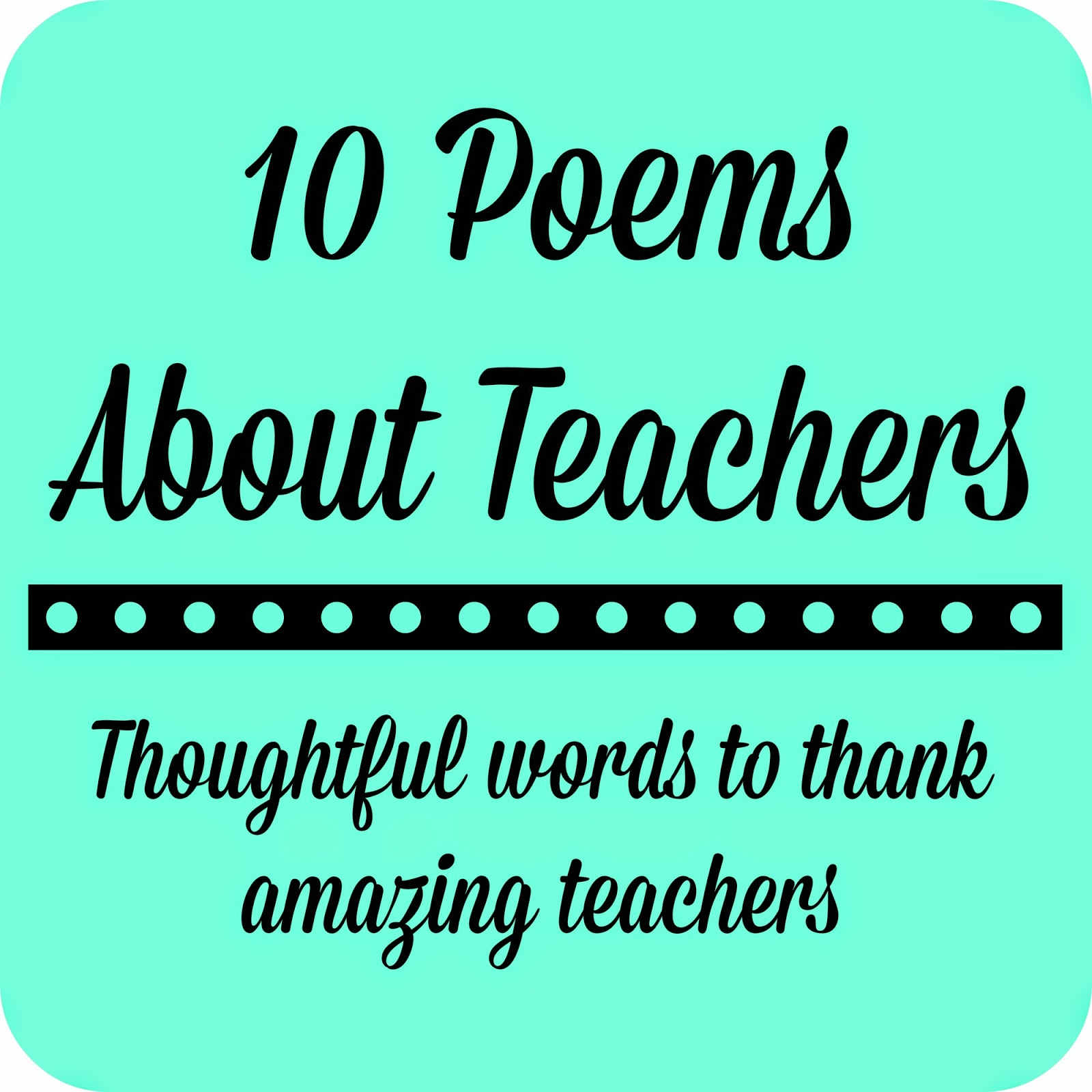 Quotes To Teacher: Thank God For Teachers Quotes. QuotesGram