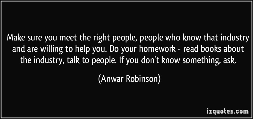 when do you know meet the right person