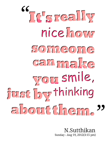 Quotes that make you smile quotesgram