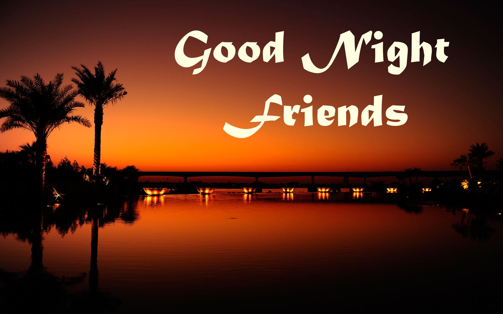 Good night quotes with beautiful scenery quotesgram - Good night nature pic ...