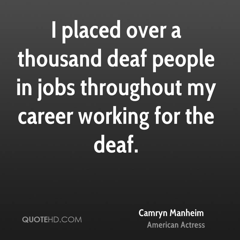 Motivational Quotes For Individuals: Inspirational Quotes About Deaf People. QuotesGram