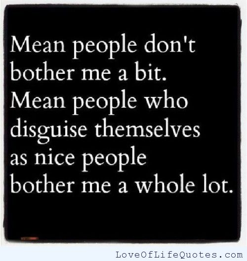 Funny Quotes About Mean People. QuotesGram